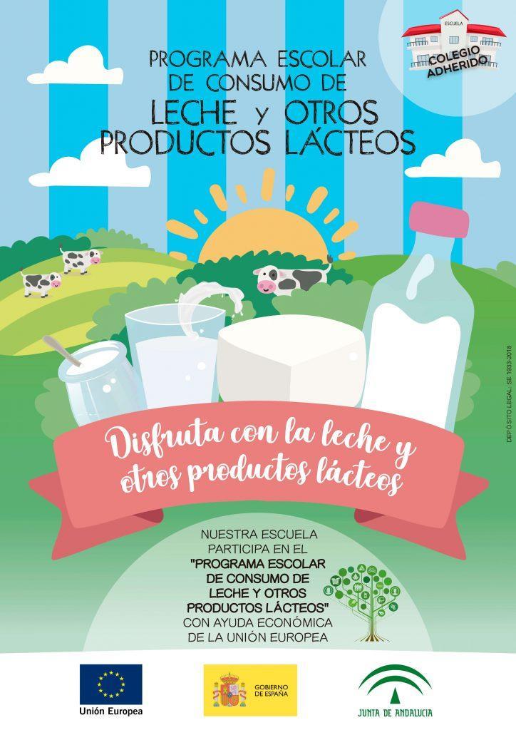 Cartel programa Ecolar lacteos724x1024