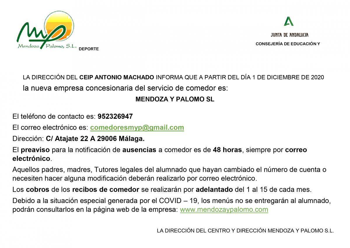 INFORMACIÓN NUEVA EMPRESA COMEDOR page-0001